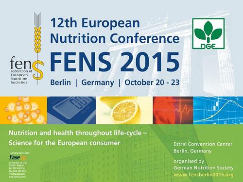 Πανευρωπαϊκό Συνέδριο Διατροφής (FENS 2015) στο Βερολίνο